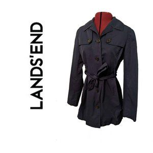 Land's End Blue Coat, Size Small 6-8